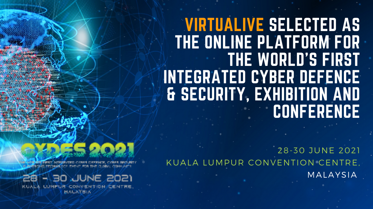 online platform for the world's first integrated Cyber Defence & Security, Exhibition and Conference